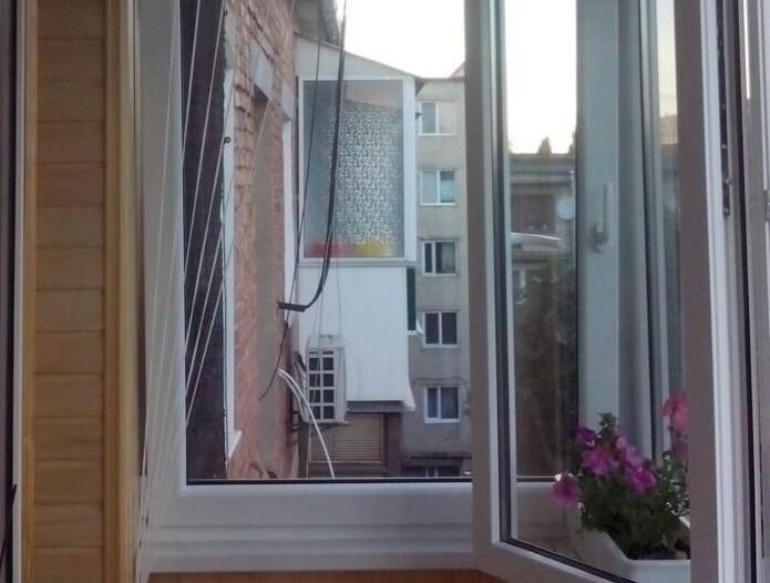 Балкон. Veka Q7